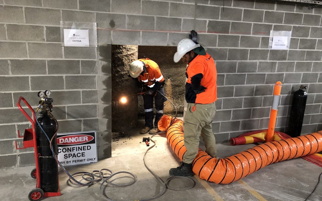 Confined space standby rescue